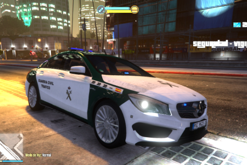 2014 Mercedes CLA 45 Amg Guardia Civil Trafico (spain traffic police) [Replace/ELS]